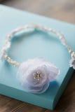El pelo adorna hecho a mano Para la novia, la imagen fácil y apacible festiva Imagenes de archivo