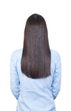 El pelo de la mujer Foto de archivo libre de regalías