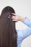 El pelo de la mujer Fotografía de archivo libre de regalías