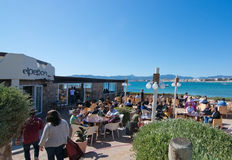 El Penon seaside restaurant Royalty Free Stock Photo