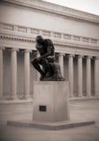 El pensador de Rodin Imagenes de archivo