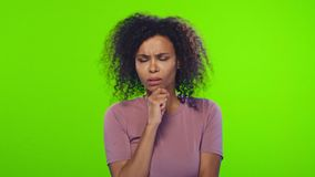El pensamiento femenino afroamericano y tener de una idea aumentaron el índice almacen de metraje de vídeo