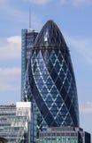 El pepinillo en Londres Imagen de archivo libre de regalías
