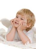 El pequeño ángel Foto de archivo libre de regalías