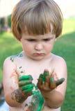 El pequeño artista Foto de archivo