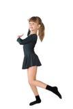 El pequeño bailarín Foto de archivo