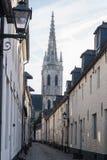 El pequeño Beguinage en Lovaina, Bélgica Fotos de archivo libres de regalías