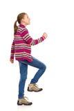 El pequeño caminar de la muchacha Fotos de archivo libres de regalías