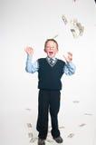 El pequeño hombre de negocios Foto de archivo