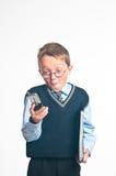 El pequeño hombre de negocios Fotos de archivo libres de regalías