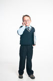 El pequeño hombre de negocios Fotografía de archivo