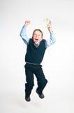 El pequeño hombre de negocios Imagen de archivo libre de regalías
