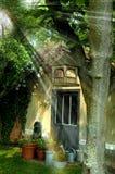 El pequeño jardín Imagen de archivo