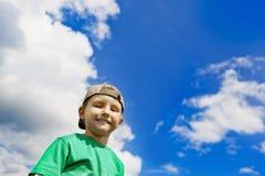 El pequeño muchacho hermoso Fotos de archivo