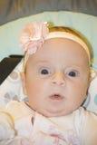El pequeño niño en un oscilación Imagen de archivo