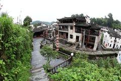 El pequeño pueblo Xiao Likeng, China Fotografía de archivo
