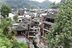 El pequeño pueblo Xiao Likeng, China Fotografía de archivo libre de regalías