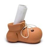 El pequeño zapato Imagenes de archivo