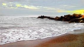 El Perelló. Catalonia. Beach in Tarragona Royalty Free Stock Photography