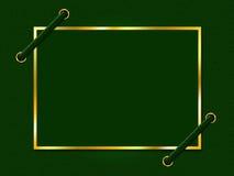 El pergamino del marco muestra el espacio y el límite vacíos stock de ilustración