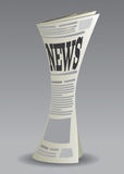 El periódico fijó 2 Fotografía de archivo