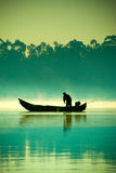El pescador Imagen de archivo libre de regalías