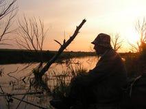 El pescador imágenes de archivo libres de regalías