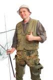 El pescador. Fotografía de archivo libre de regalías