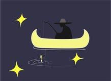El pescador libre illustration