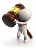 El peso de la ley Imágenes de archivo libres de regalías