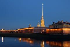El Peter y Paul Fortress Imagen de archivo libre de regalías