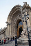 El Petit Palais (pequeño palacio) es un museo en París Fotos de archivo libres de regalías