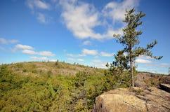 El pico de Ely cerca de Duluth Fotografía de archivo