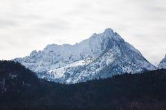 El pico de montaña Imagen de archivo libre de regalías