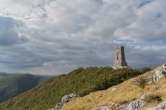 El pico de Shipka Imagen de archivo libre de regalías