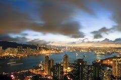 El pico del diablo, Hong Kong Imagen de archivo