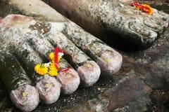 El pie de Buda Fotos de archivo libres de regalías