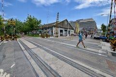 El Pier-2 Art Center en Gaoxiong Foto de archivo libre de regalías