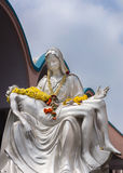 El Pieta en la basílica de St Mary en Bangalore. imágenes de archivo libres de regalías