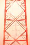 El pilón rojo fotografía de archivo