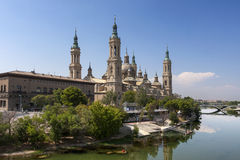 El Pilar basilica, Saragossa, Spain Royalty Free Stock Photo