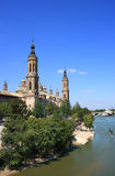 El Pilar Basilica (Zaragoza, Spain) Royalty Free Stock Images