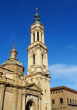 El Pilar Basilica, Zaragoza, Spain Royalty Free Stock Photo