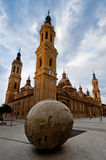 El Pilar cathedral in Zaragoza, Spain Stock Photography