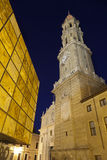 EL Pilar square (Zaragoza,SPain) Stock Photography