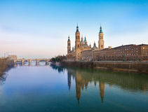 El Pilar in Zaragoza Royalty Free Stock Photo