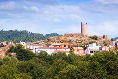 El Pilon tower in Matet Royalty Free Stock Photo