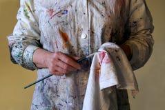 El pintor 1. Imágenes de archivo libres de regalías