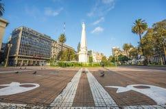 El Piramide de Mayo en Buenos Aires, la Argentina fotos de archivo libres de regalías