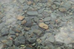El piso de piedra de una fuente de agua en San Jose imagenes de archivo